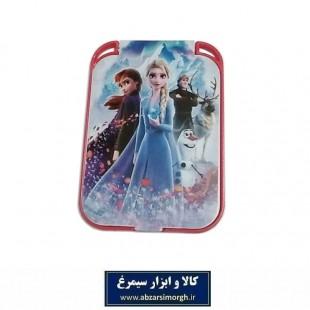 آینه جیبی دخترانه طرح کارتون Frozen فروزن ZAY-009