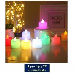 شمع ال ای دی LED تزئینی رنگی برای تولد و مراسم ELU-009