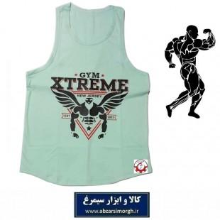 رکابی بدنسازی مردانه Gym Xtreme اکستریم جیم رنگ فیلی VLV-002A