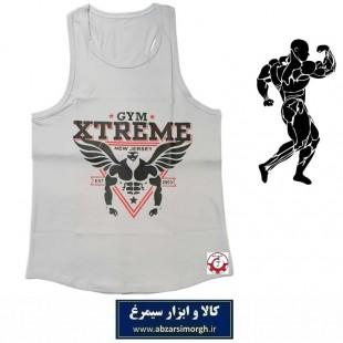 رکابی بدنسازی مردانه Gym Xtreme اکستریم جیم رنگ طوسی VLV-002D