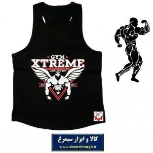 رکابی بدنسازی مردانه Gym Xtreme اکستریم جیم رنگ مشکی VLV-002E