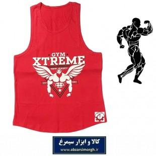 رکابی بدنسازی مردانه Gym Xtreme اکستریم جیم رنگ قرمز VLV-002F