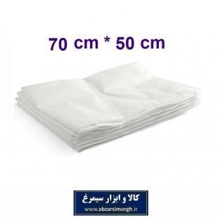 روبالشی یکبار مصرف ابعاد ۵۰ × ۷۰ سانت بسته ۵ عددی HKK-015