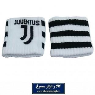 مچ بند ورزشی باشگاه یوونتوس .Juventus F.C بسته ۲ عددی VMB-015