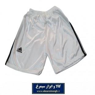 شلوارک ورزشی مردانه طرح Adidas آدیداس رنگ سفید