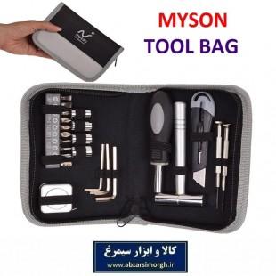 مجموعه کیف ابزار ۲۳ عددی Myson مایسان AMA-062