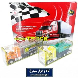 اسباب بازی کامیون کمپرسی و بازیافت طول ۱۶ سانت TMT-016
