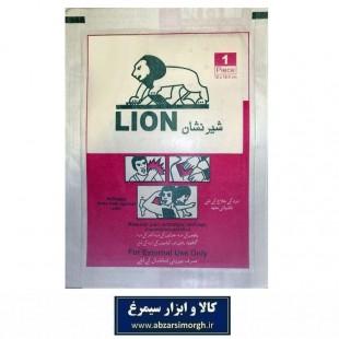 چسب تسکین درد کمر و بدن Lion شیر نشان فروش تکی و بسته ۶ عددی VCA-007