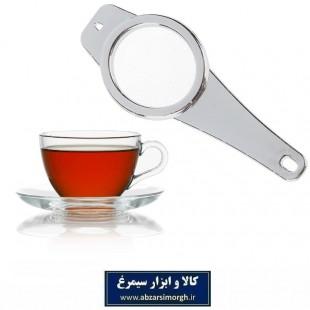 صافی و تفاله گیر چای عروس بدنه کروم و توری فلزی HNO-008
