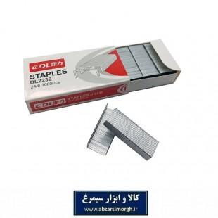 سوزن دستگاه منگنه دی ال DL2232 سایز 24/6 بسته ۱۰۰۰ عددی OMG-002