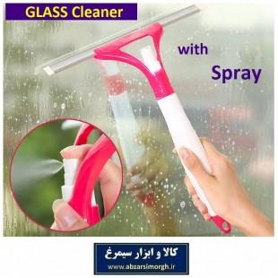 تی شیشه پاک کن اسپری دار با تیغه لاستیکی نرم NSH-005