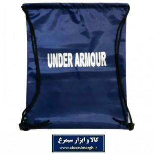 کوله پشتی ورزشی شوزبگ Under Armour آندر آرمور پارچه شمعی رنگ سرمه ای