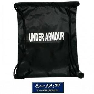 کوله پشتی ورزشی شوزبگ Under Armour آندر آرمور پارچه شمعی رنگ مشکی