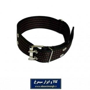 قلاده گردنی سگ برزنتی بزرگ و پهن عرض 5 سانت رنگ مشکی HPS-009G
