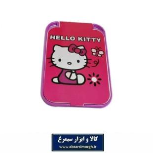 آینه جیبی دخترانه طرح کارتون Hello Kitty هلو کیتی ZAY-015
