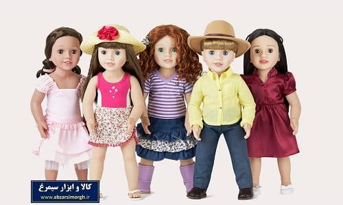 عروسک های اسباب بازی دخترانه dolls for girls