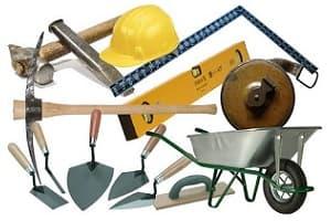 ابزار و لوازم ساختمانی