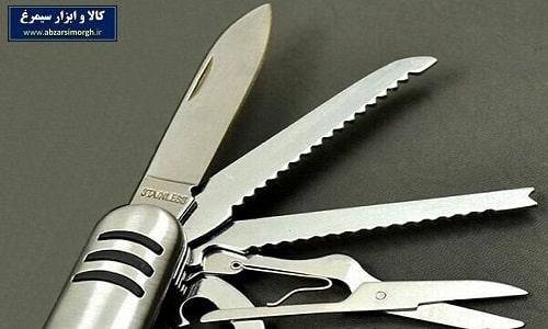 لوازم کمپینگ و شکار - ابزار  و چاقوی ۱۱ کاره