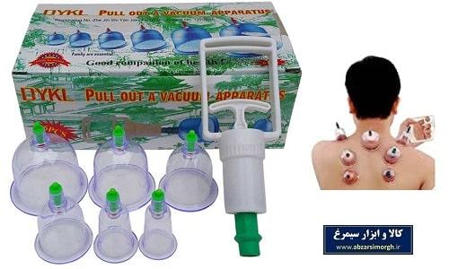 دستگاه بادکش درمانی و حجامت بدن ۶ لیوان DYKL دایکل
