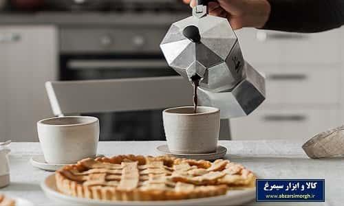 موکاپات یا قهوه جوش و اسپرسوساز روگازی آلومینیوم ۳ کاپ