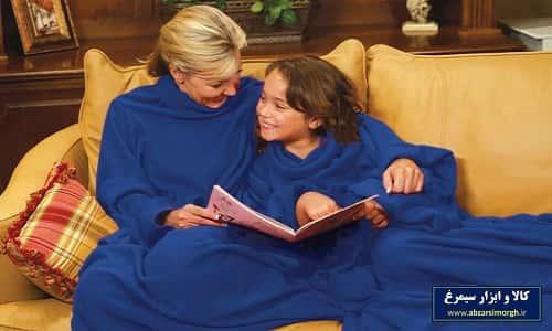 پتو تن پوش Snuggie Blanket