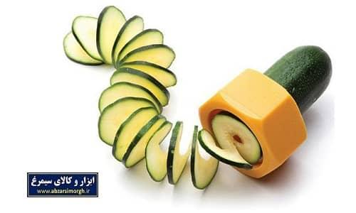 حلقه کن و تراش میوه و صیفی جات Cucumber Slicer