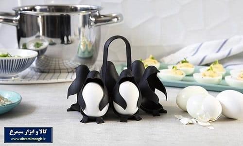 نگهدارنده و هوادر پخت تخم مرغ پنگوئن Penguin Egg Holder