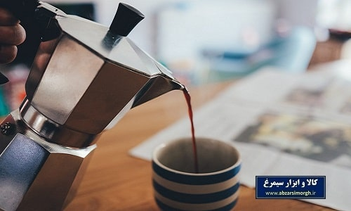قهوه جوش و اسپرسو ساز دستی Coffee & Spersso Maker