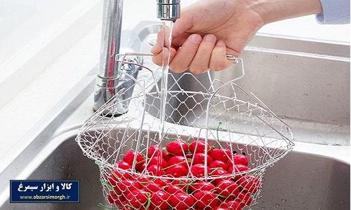 لوازم آشپزی - سبد سرخ کن و ۱۲ کاره آشپزی Chef Basket شف بسکت