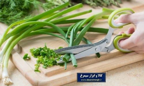 قیچی سبزی kitchen scissor