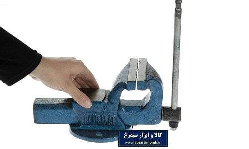 گیره رومیزی فولادی 100 ایران صنعت طرح ماتادور