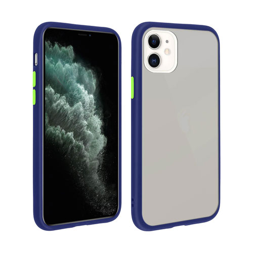 Hybrid Simple Matte Bumper Phone Case For Apple iPhone 11