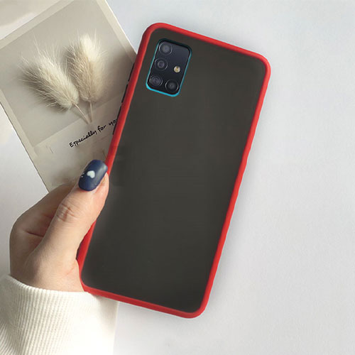 Hybrid Simple Matte Bumper Phone Case For Samsung Galaxy A51