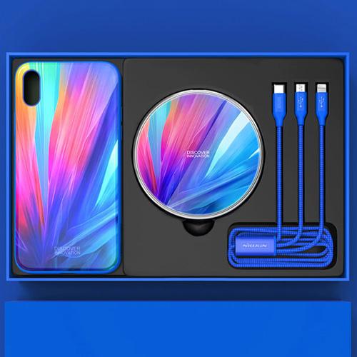ست هدیه نیلکین مناسب گوشی اپل مدل iPhone XS Max