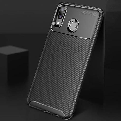 قاب فیبر کربنی گوشی سامسونگ Galaxy M20