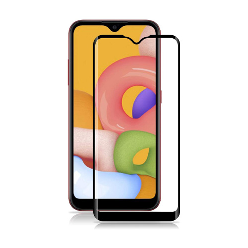 Full Glue Glass Screen Protector Samsung Galaxy A01