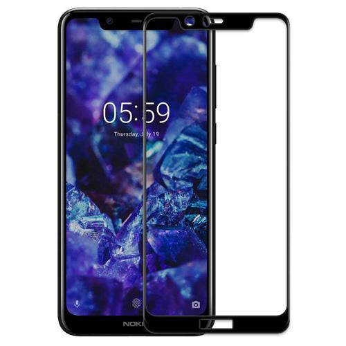 Nokia 5.1 Plus Mocoll Full Glue Glass Full Screen Protector