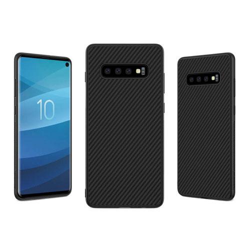 قاب نیلکین مدل Synthetic Fiber Case مناسب برای گوشی سامسونگ مدل Galaxy S10