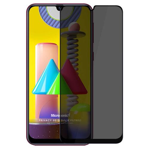 Samsung Galaxy M31 Privacy Mocoll Glass