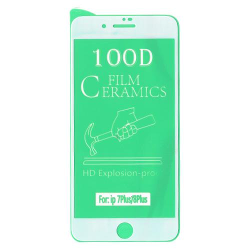 گلس سرامیکی گوشی اپل iPhone 8 Plus 100D