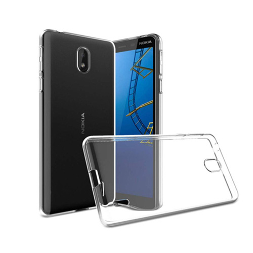 COCO Clear Jelly Case For Nokia 3.1