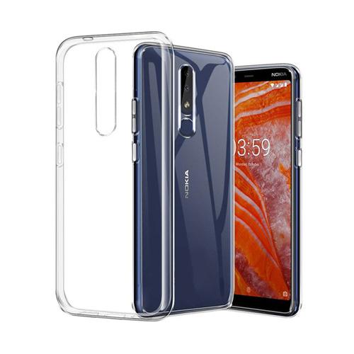 قاب ژله ای شفاف کوکو مناسب برای گوشی نوکیا مدل 3.1 Plus