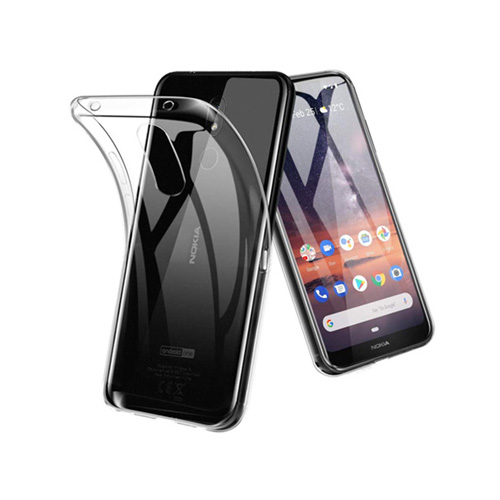 COCO Clear Jelly Case For Nokia 3.2