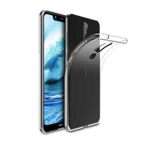 قاب ژله ای شفاف کوکو مناسب برای گوشی نوکیا مدل 5.1 Plus