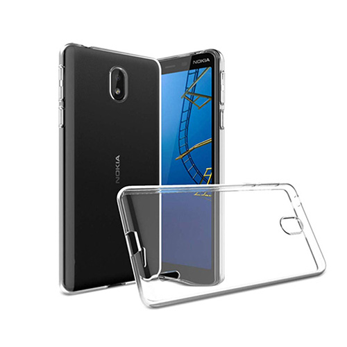 COCO Clear Jelly Case For Nokia 1 Plus