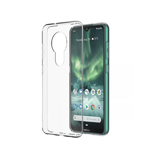 COCO Clear Jelly Case For Nokia 6.2