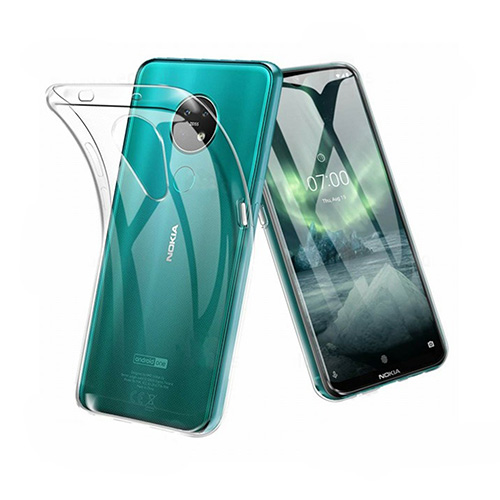 COCO Clear Jelly Case For Nokia 7.2