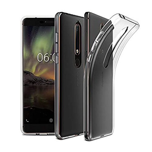 COCO Clear Jelly Case For Nokia 6.1