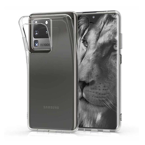 COCO Clear Jelly Case For Samsung Galaxy S20 Ultra
