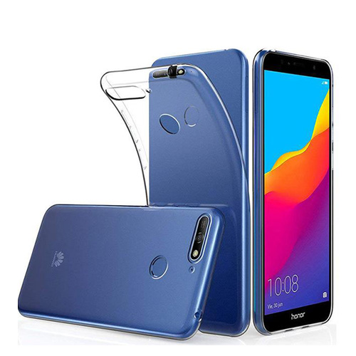 COCO Clear Jelly Case for Huawei Y6 Prime 2018